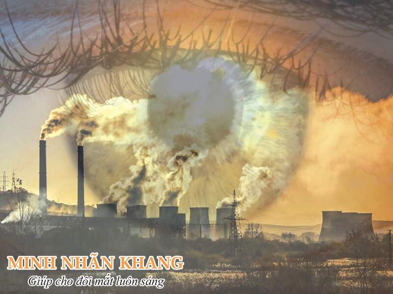Ô nhiễm môi trường gây tổn thương mắt nghiêm trọng